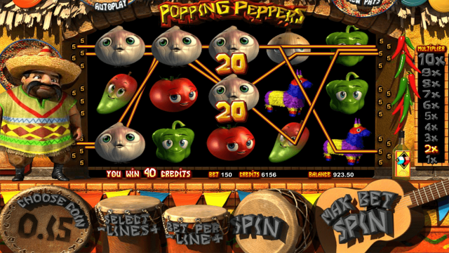 Игровой автомат Paco And Popping Peppers 2