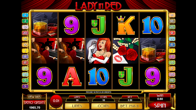 Игровой автомат Lady In Red 8