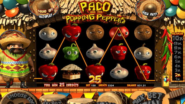 Игровой автомат Paco And Popping Peppers 9
